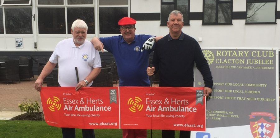Rotary Club of Clacton Jubilee to Host Charity Golf Day for Air Ambulance