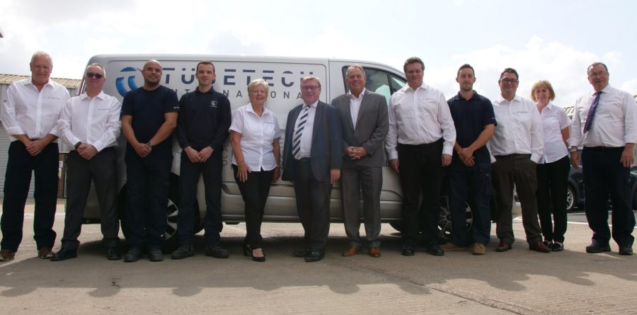 Essex based company welcomes Rayleigh MP