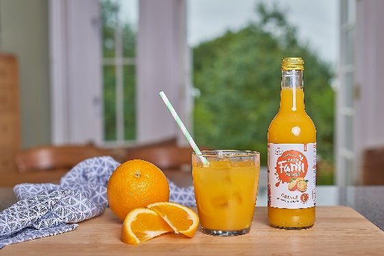 Local fruit juice producer expands its range with launch of new Orange juice