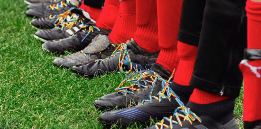 Chelmer Wanderers don their Rainbow Laces