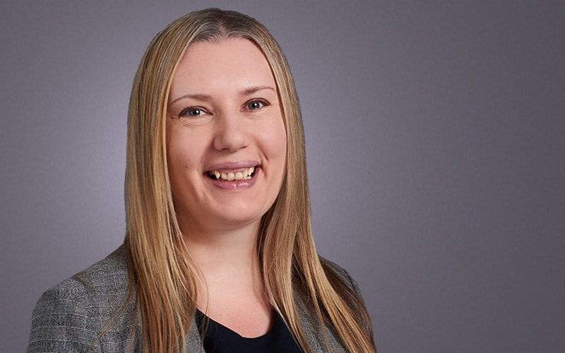 Francesca Easter as a Senior Associate in the Family Law Team