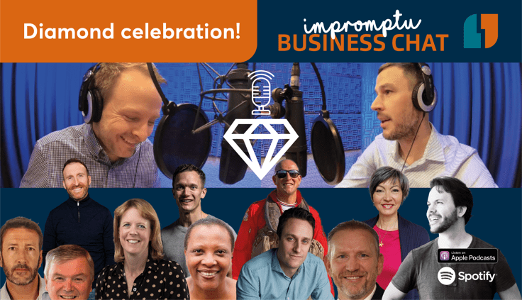 Business Podcast launched during lockdown celebrates its 60-episode 'diamond anniversary'